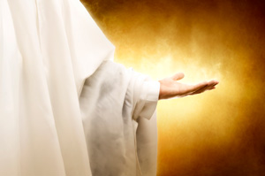 iStock 000006832847Large Hand of God
